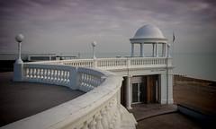 De La Warr Pavilion (promenade) (John's taken it. Peace) Tags: sea cloud white beach sussex artdeco bexhill buildind delawarrpavilion
