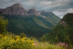 USA Glacier NP (Karchinger) Tags: park usa cloud mountains glacier national 2014 d610