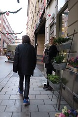 Walking (svederud) Tags: street people canon way walking back sweden stockholm g7x