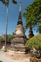 IMG_0696 (jaglazier) Tags: brick architecture buildings thailand december buddhist religion siamese buddhism thai temples rituals ayutthaya brickbuildings 2014 theravada hinayana phranakhonsiayutthaya 122014 changwatphranakhonsiayutthaya copyright2014jamesaglazier watphranakhon