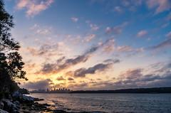 Sydney Harbour Sunset @ Nielsen Park (twang2218) Tags: beach pentax harbour au sydney australia sydneyharbour