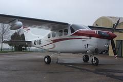 Close Up of Cessna P210N Pressurized Centurion N210BE (Old Buck Shots) Tags: dm cessna centurion pressurized p210n egsv n210be gvmde