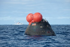 Orion back on Earth after successful flight test