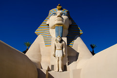 Luxor's Sphinx (In Explore) (Rackelh) Tags: statue faces lasvegas travel