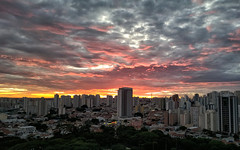 2nd dawn of the year. (Diego3336) Tags: cameraphone brazil sky urban cloud latinamerica southamerica brasil skyline clouds sunrise buildings dawn nokia twilight cityscape saopaulo sp lumia pureview lumia930