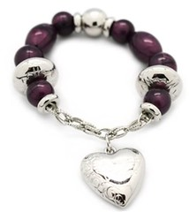 Glimpse of Malibu Purple Bracelet P9612-5