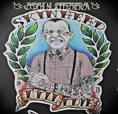 (johnsaw79) Tags: tattoo evil skinhead tattooart conduct tattooer flashtattoo oldschooltattoo neotraditionaltattoo johnsierratattooer