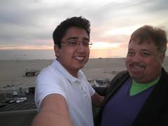 Sunset in Santa Monica (Diogioscuro) Tags: sunset me self santamonica yo eu io danny ich diogioscuro