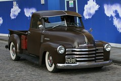 1952 CHEVROLET STEPSIDE PICK UP (shagracer) Tags: chevrolet up club truck bristol square utility queen ute american vehicle pick avenue adc drivers stepside 220uxe