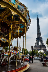 eiffel carrousel (lukee!) Tags: paris france tower eiffel trocadero carrousel lukee