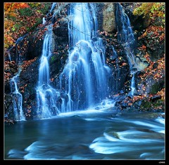 nEO_IMG_DP1U2531 (c0466art) Tags: trip travel autumn trees light color fall water beautiful japan night creek canon season landscape temple photo scenery time northeast 2014 1dx c0466art