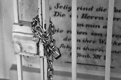 Father Oschwald's Mausoleum (anakin1814) Tags: cemetery saint wisconsin death key lock decay creepy mausoleum locked fatheroswald stnazius nazius