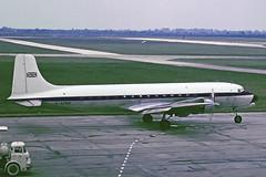 DOUGLAS DC6A G-APNP (BRITISH UNITED) (shanairpic) Tags: dublin dc6 propliner douglasdc6 britishunited gapnp