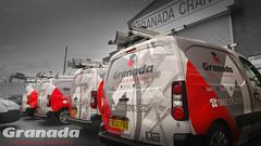 Granada Cranes and Handling Vans