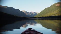 kayaking (ty-_-guy) Tags: mountain water kayak floating calm kayaking waterton