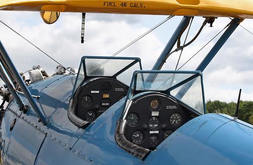 Boeing A75N1 Kaydet Stearman PT-17 (N300LY) - Tandem Cockpits
