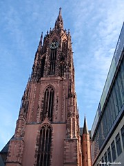 Frankfurt am Main, Germany - Cathedral outside (kiya_pl) Tags: church germany am cathedral frankfurt main gothic