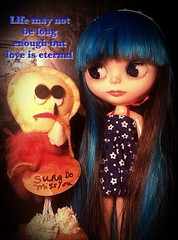 "Blythe-a-Day January#20: Favorite Toy or Gadget: ""Sure Do Miss You"""