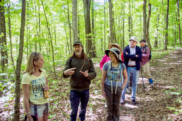 Hoosier National Forest - Pioneer Mothers - Sierra Club Hike - May 7, 2016