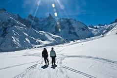 Dan and Josefine (wesbl) Tags: travel italy ski france alps switzerland europe skiing geneva backcountry chamonix montblanc offpiste backcountryskiing chamonixmontblanc