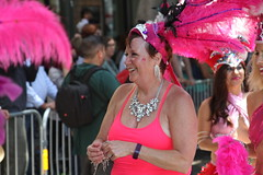 SF Carnaval 2016 (DanceAndRun) Tags: sf carnival pink san francisco breast cancer carnaval cure manal