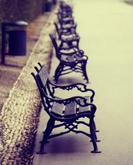 Empty Line (C_MC_FL) Tags: vienna wien street canon bench photography eos focus fotografie dof empty leer linie nobody row retro line depthoffield belvedere tamron schrfentiefe inarow fokus softtones sitzbank reihe tiefenschrfe niemand 18270 60d b008 hintereinander