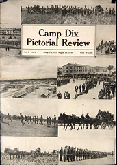 """Camp Dix Pictorial Review"" (Madison Historical Society) Tags: old usa history museum newspaper interesting nikon image connecticut interior military country wwi picture newengland ct indoor worldwari madison historical inside greatwar firstworldwar route1 mhs conn 1stworldwar d600 bostonpostroad nikond600 leeacademy madisonhistoricalsociety madisonhistory bobgundersen"