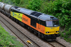 60076 Villet Rd Sunderland 19/05/16 (Fergi37409) Tags: diesel brush coco tug colas class60 60076