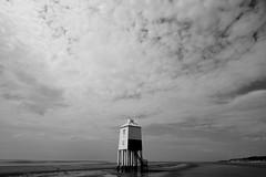Standing Proud (The Green Album) Tags: lighthouse seascape beach wooden sand legs somerset safety rocket stilts burnhamonsea