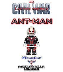 Ant-Man [MCU] [Civil War] [Custom] (agoodfella minifigs) Tags: lego civilwar custom marvel captainamerica mcu marvelcomics minifigure minifigures marvelheroes scottlang legosuperheroes legomarvel teamcap legomarvelsuperheroes legoavengers
