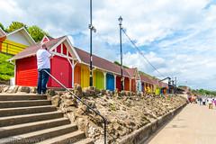 Scarborough & Bempton Cliffs 22 May 2016-0315 (lattelover56) Tags: seaside scarborough beachhuts