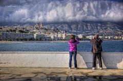 (117/16) Todos fotografiamos lo mismo (Pablo Arias) Tags: españa photoshop spain arquitectura alicante cielo nubes altea hdr texturas comunidadvalenciana photomatix nx2 pabloarias