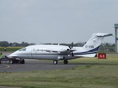 D-IIVA Piaggio Avanti P180 AirGo Flugservice (Aircaft @ Gloucestershire Airport By James) Tags: james airport oxford lloyds piaggio avanti p180 airgo diiva flugservice egtk