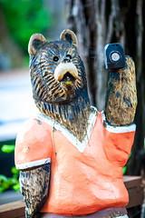 Humboldt (Thomas Hawk) Tags: california bear wood sculpture usa northerncalifornia america unitedstates unitedstatesofamerica humboldtcounty garberville