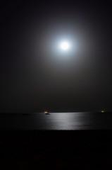 Romantic (Hazem Hafez) Tags: beach night egypt romance fullmoon ainsokhna