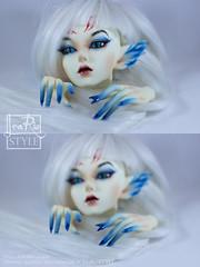 Make-up and manicure for SOOM Clozel (LeaRio Style) Tags: doll pretty makeup fantasy bjd soom kitsune blushing makeupartist bjds faceup dollsoom bjdmakeup clozel faceupartist soomclozel bjdblushing