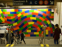 201605237 New York City subway station '59th Street - Columbus Circle' (taigatrommelchen) Tags: nyc newyorkcity railroad urban usa ny newyork station sign subway manhattan railway tunnel icon midtown transit mass columbuscircle 20160518