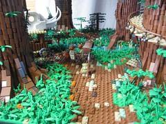 Ewokdorf - Wache (KW_Vauban) Tags: starwars lego endor ewokvillage episodevi thereturnofthejedi