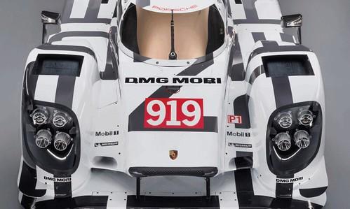 Porsche 919 LMP1. 2014 год