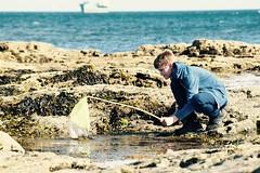 Feeling lucky? (Bryony_) Tags: holiday beach seaside fishing cornwall unitedkingdom rockpools