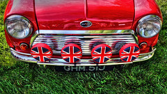 Very Red & Very British (jrussell.1916) Tags: autumn red minicooper carshows kansascityartinstitute tonemapped canonefs1755f28is britishautomobiles artofthecarconcours