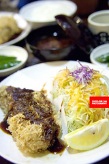 Pork Loin Katsu (APERTURE X & THE CULINARY ADVENTURER) Tags: food japan loin friedpork