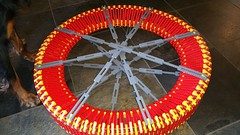 Lego Wheel with Spokes (Daddy Ogre) Tags: wheel day lego technic fathers