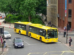 Round We Go (RocknRave) Tags: old bus bristol market roundabout mercedesbenz artic 902 parkride citaro ctplus bx02yyv mca19 june2016