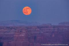 Strawberry Moon (David Swindler (ActionPhotoTours.com)) Tags: moon night utah haze strawberry smoke strawberrymoon