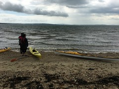 Paddle from lepe country park up to bealieu 25 June 2016