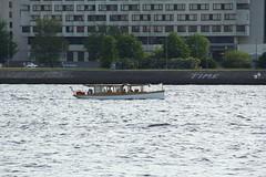 as time goes bye (raumoberbayern) Tags: river boot boat time latvia fluss schiff riga zeit lettland robbbilder urbanfragments