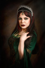 Greensleeves (Azadeh Brown) Tags: wedding tiara green girl beauty fairytale dark painting bride persian model opera dress princess theatre cosplay balcony gothic goth goddess royal folklore worldofwarcraft medieval queen elf lotr vogue fantasy femmefatale crown celtic gown elegant azadeh middleages robinhood theatrical regal alternative larp superstitious pagan maidmarian preraphaelite damsel evilqueen gothchick darkelf margamcastle anneboleyn persianbeauty arthurian gameofthrones gothbride grimmfairytales gothicart preraphalite gothicqueen persianprincess persianmodel gothbeauty celticlady azadehbrown persianqueen