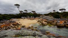 the secrets the ocean shared (keith midson) Tags: ocean beach rocks cove tasmania eastcoast bayoffires binalongbay
