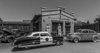 Bobby's Garage BW